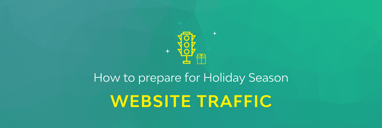 holiday season site traffic header